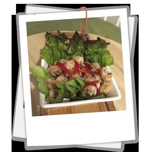 Fresh Rosemary Langostino Salad