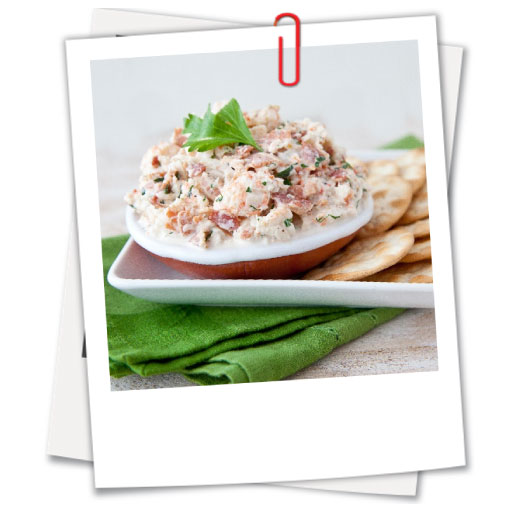 Langostino, Bacon and Horseradish Dip