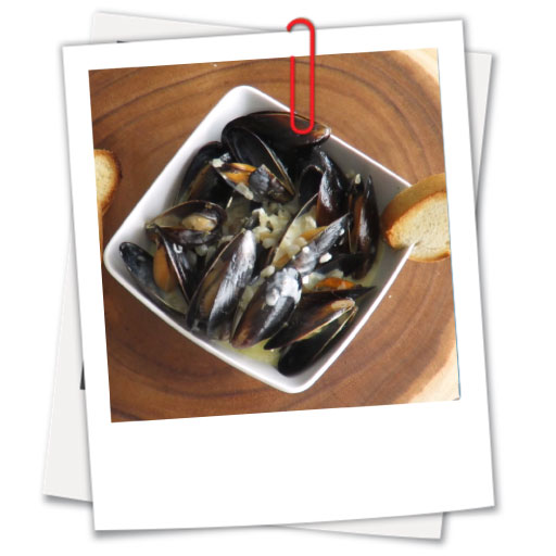 Mussels in a Gourmet Cream Sauce