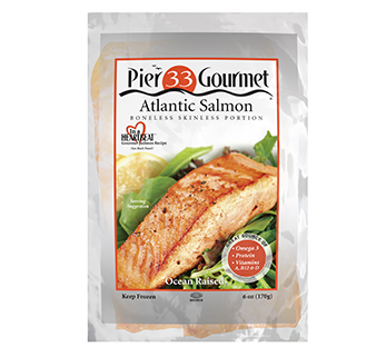 Pier 33 Gourmet Products - Salmon, Mussels & Langostino
