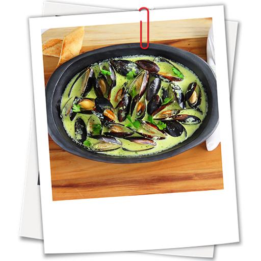 Mussels Creme Verde