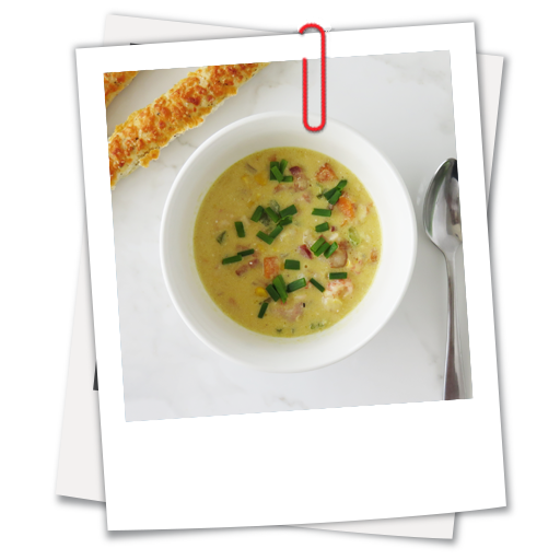 Corn and Langostino Lobster Tail Chowder